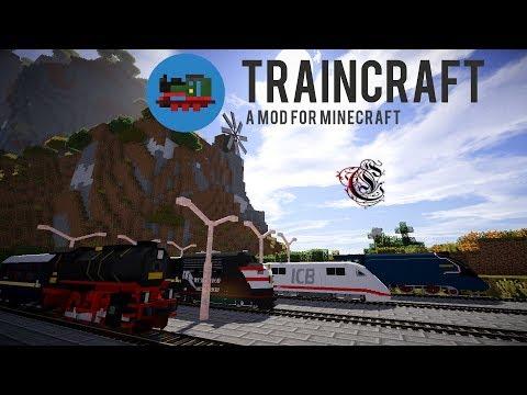 #7 komplexeres Gleisdesign - Traincraft Staffel 2 (german HD 60fps)