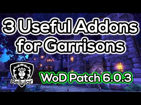 garrison - 3 addons that have been saving me lots of time and hassle. http://www.curse.com/addons/wow/broker-garrison http://www.curse.com/addons/wow/garrisoncommander ...