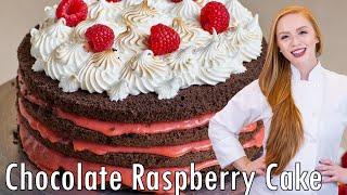 Chocolate Raspberry Lemon Cake by Tatyana's Everyday Food