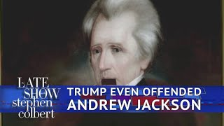 Even Andrew Jackson Was Offended By Trump's 'Pocahontas' Crack
