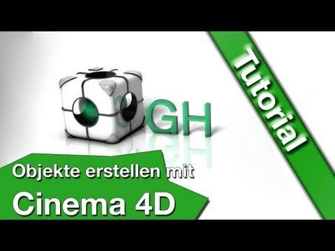 Tutorial Objekte erstellen mit Cinema 4D