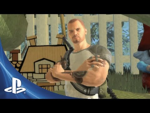 PlayStation All-Stars Battle Royale - Cole MacGrath Trailer