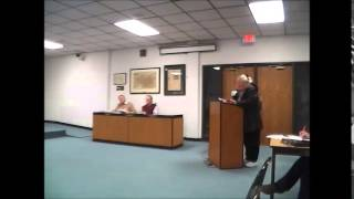 Theresa Skorseth and Robin Hensel petitions 3-18-13, redefine patriotism. Little Falls City Council meeting.