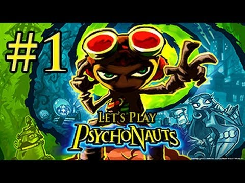 Let's Play: PsychoNauts Gameplay Walkthrough | Part 1 | SUMMER CAMP BEGINS!