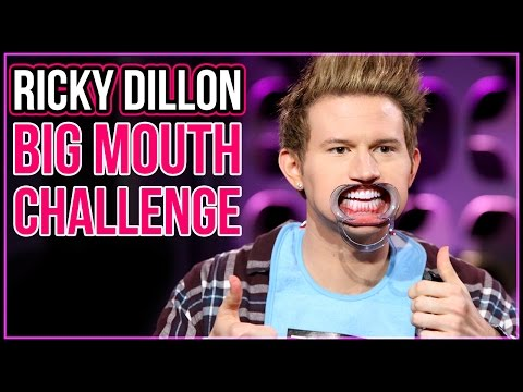 BIG MOUTH CHALLENGE w/ Ricky Dillon   Top Five Live