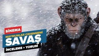 Maymunlar Cehennemi: Savaş filmini izledim sizler için yorumladım.