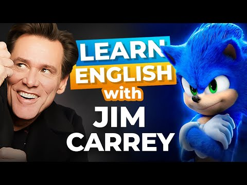 Learn English with Jim Carrey | Sonic the Hedgehog