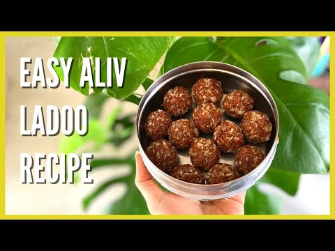 Aliv Ladoo Recipe   Perfect For Hair Fall & Growth