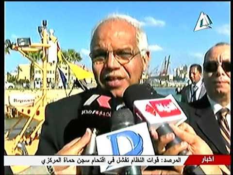 وزير النقل يتفقد مشروعات الطرق بالاسماعلية وميناء دمياط