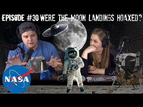 NASA Moon Landings Conspiracy Theories - Podcast #30