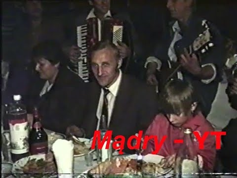 Myślisz, że byłeś na konkretnym weselu? To zobacz jak wyglądała impreza w 1992 roku