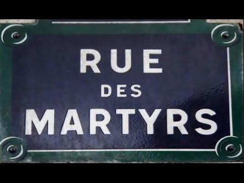 Rue des Martyrs Paris Arrondissements  9e  18e