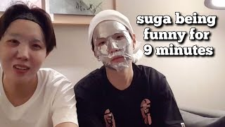Video Min Yoongi being a dork/funny for 9 minutes MP3, 3GP, MP4, WEBM, AVI, FLV Agustus 2019