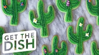Cactus Cookies with Cookies, Cupcakes, & Cardio | Get the Dish by POPSUGAR Food