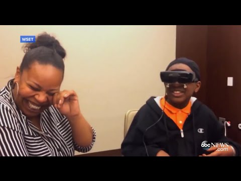 VIDEO: Amazing! Blind Boy Sees His Mom For The First Time!