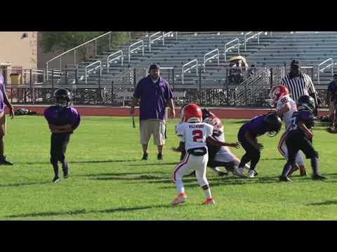 Ezekiel Overstreet hightlights Arizona game 9/14/2019