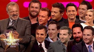 Video Graham Norton Joins The Avengers! MP3, 3GP, MP4, WEBM, AVI, FLV Juli 2019
