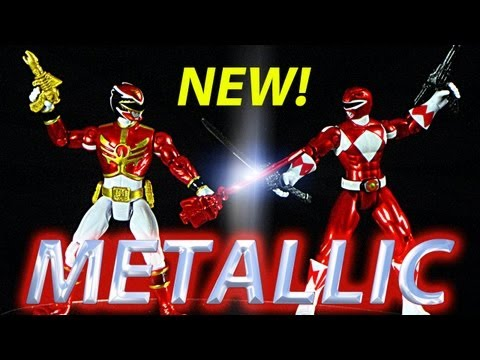 Metallic - New 4 inch Metallic Megaforce Rangers are out now! MEGAFORCE FIGURES: #35106 Robo Knight Power Ranger #35107 Loogie (N/A) #35108 Vrak (N/A) #35109 Metallic F...