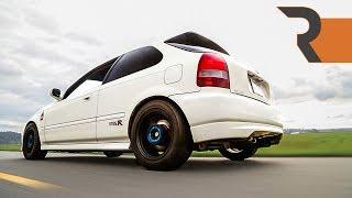 JDM Honda Civic Type-R 1.8L Stroker | More HP per liter than a V12 Vantage!