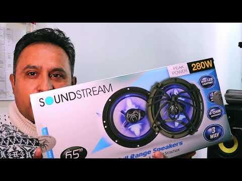 "Bocinas LX650 Sound Stream 6.5"" conLuz Led 2020#GMLighting видео"