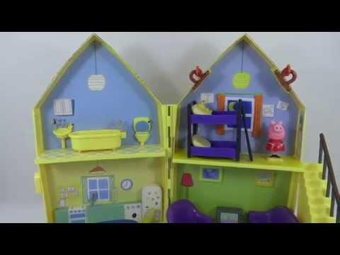 Video Casa da Peppa Pig Família Pig Estrela George Pig Kids Jogos e Surpresas download in MP3, 3GP, MP4, WEBM, AVI, FLV January 2017