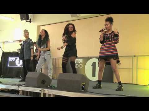 RADIO - Little Mix performed this awesome live version of How Ya Doin'? at the Isambard Community School in Swindon as part of Grimmy's schools tour.