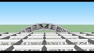 Video Sketchup Making Of : Space Truss MP3, 3GP, MP4, WEBM, AVI, FLV Desember 2017