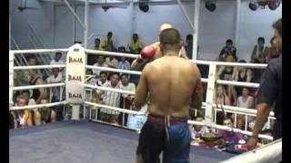 Keith Haist fighting @ Bangla Stadium for Sinbi Muay Thai Phuket