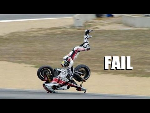 AMAZING FAIL & CRASH COMPILATION OF MOTORCYCLE !!!