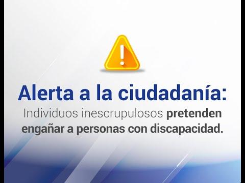 Ver el video Alerta de estafas a personas con discapacidad