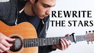 Video Rewrite The Stars - The Greatest Showman (Fingerstyle Guitar Cover) MP3, 3GP, MP4, WEBM, AVI, FLV April 2018