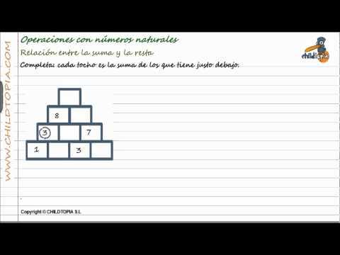 Vídeos Educativos.,Vídeos:Operaciones números naturales 2
