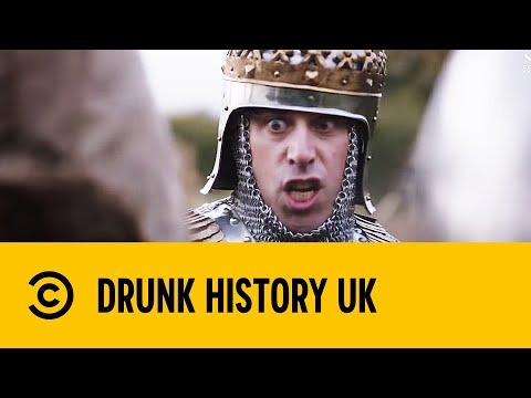 Henry V's Famous Agincourt Speech - Stephen Mangan in Drunk History | Comedy Central