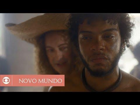 Novo Mundo: capítulo 124 da novela, segunda, 14 de agosto, na Globo