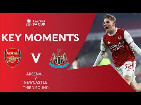 Arsenal v Newcastle United   Key Moments   Third Round   Emirates FA Cup 2020-21