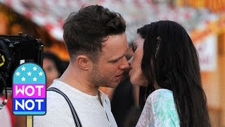 Olly Murs Tries to Kiss Swedish Miss World Contestant Filming his Music Video on Venice Beach!