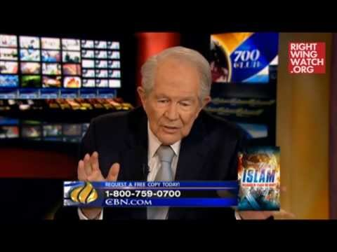 Pat Robertson says Muhammad was a pedophile and Obama is a Muslim
