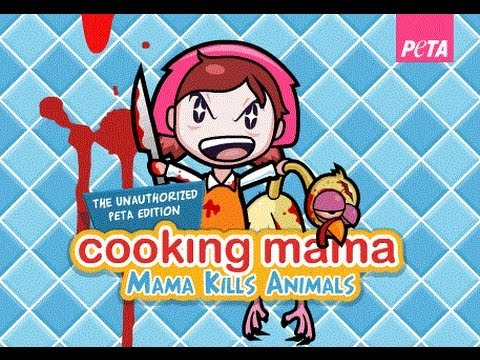 Cooking Mama - Mama Kills Animals :: PETA GAMES