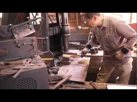 The Forging of a Hunting Knife in Tosa, Japan - 2013-3-7