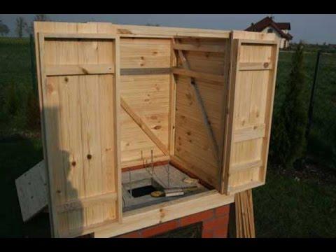 Из чего сделать коптильный шкаф своими руками