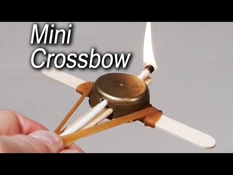 How to Make a Miniature Crossbo