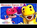 Rex, Sharks vs. Dinosaurs | Kids Songs and Nursery Rhymes by Little Angel