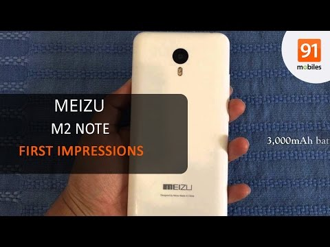 Meizu M2 Note: First Look | Hands on | Price