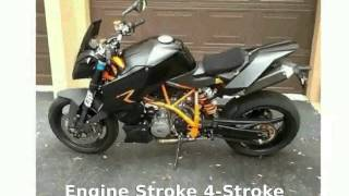 2. 2008 KTM Super Duke 990 R Walkaround, Specs