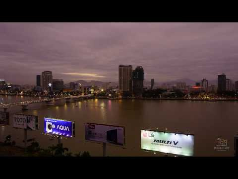 Time-lapse Da Nang city 2