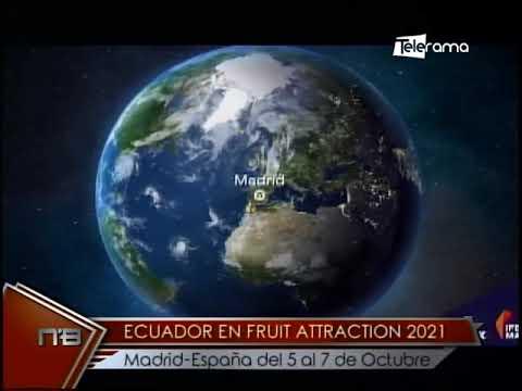 Ecuador en Fruit Attraction 2021 Madrid-España del 5 al 7 de Octubre
