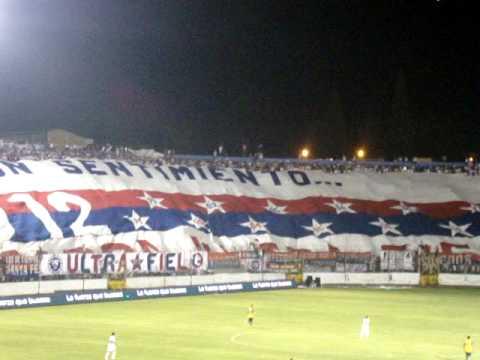 Ultra Fiel, La bandera mas grande de Centroamerica, Olimpia vs America, Fiesta del Centenario. - La Ultra Fiel - Club Deportivo Olimpia