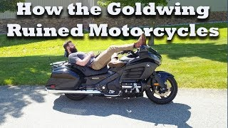 1. Honda Goldwing F6B review