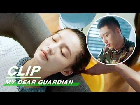 Clip: Liang Washes Hair For Xia | My Dear Guardian EP09 | 爱上特种兵 | iQiyi