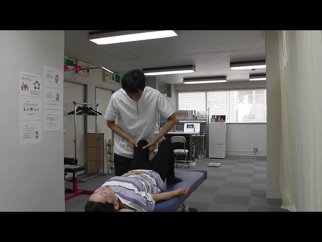 【施術動画】筋膜の癒着からの腰痛 手術痕付近の筋膜をリリース